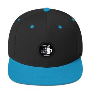 Cars & Coffee Snapback Cap