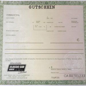 CCR Gutschein
